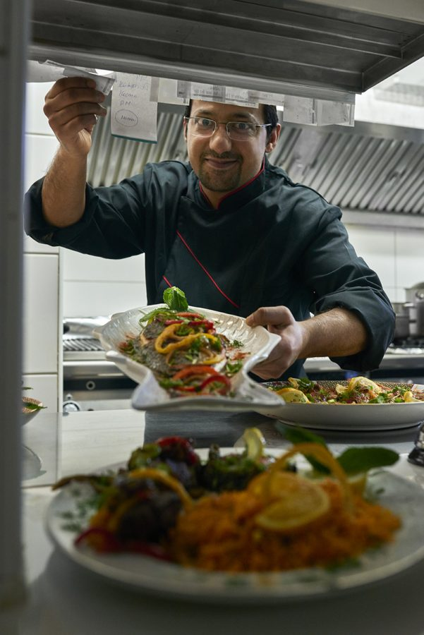MASUD, OUR CHEF SINCE 12 YEARS. HE'S A COOK WITH ALL HIS HEART AND SOUL