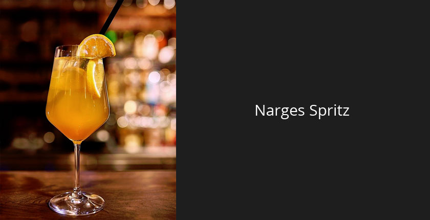 Narges Spritz Cocktail